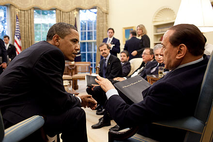 Berlusconi with the United States President Barack Obama in the Oval Office on 15 June 2009 3684018560 ca14639e91 o Barack Obama with Silvio Berlusconi ORIGINAL SIZE.jpg