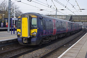 Electrostar - First Capital Connect 377519 at Bedford