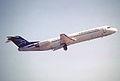 379aa - Montenegro Airlines Fokker 100, YU-AOL@ZRH,23.09.2005 - Flickr - Aero Icarus.jpg