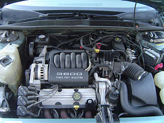 Buick V6 engine Motor vehicle engine