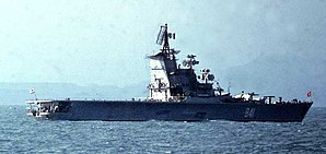 Moskva off the coast of Morocco in January, 1970.