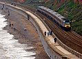 43357 and 43 number 285 Plymouth to Leeds 1S55 at Dawlish (23957592598).jpg
