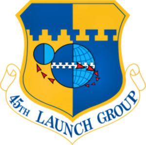 45th Launch Group - Emblem of the 45th Launch Group
