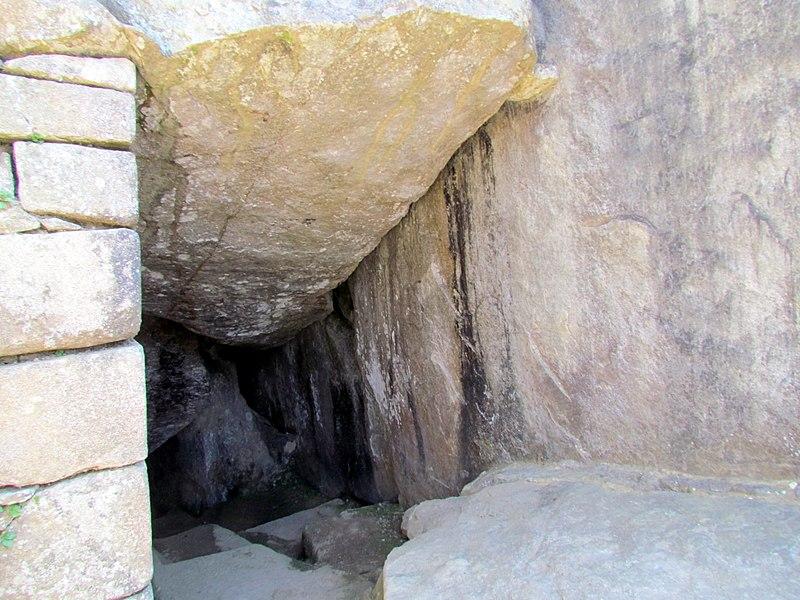 File:48 Intimachay December Solstice Cave Machu Picchu Peru 2567 (14979098778).jpg