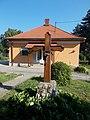 4 Ady Street, wooden cross, 2020 Balatonkeresztúr.jpg