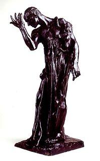 <i>Pierre de Wiessant</i> sculpture by Auguste Rodin