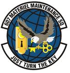 607 Materiel Maint Sq emblem.png