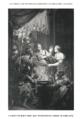 63 Mark's Gospel V. the Jewish trial image 3 of 3. Peter denies Christ. Houbraken.png