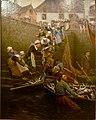 664 Alfred Guillou Débarquement du thon à Concarneau.jpg