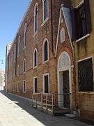 7389 - Venezia - Fondaco dei Turchi (sec. XII) - Fiancata (Federico Berchet, 1869) Foto Giovanni Dall'Orto - 16-Aug-2008.jpg