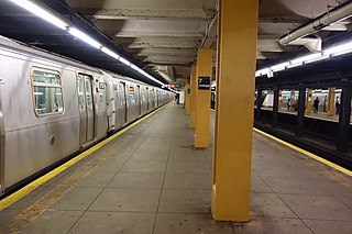 Seventh Avenue station (IND Culver Line) New York City Subway station in Brooklyn