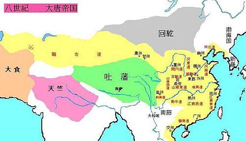 漠北纳入唐朝的疆域