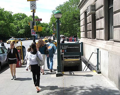 How to get to 81st Street–Museum Of Natural History with public transit - About the place