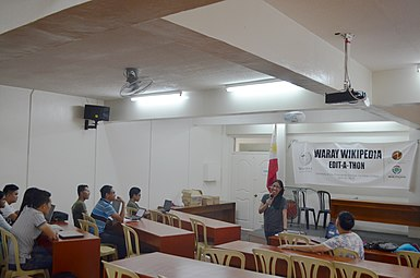 9th Waray Wikipedia Edit-a-thon 05.JPG