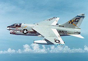 A-7E Corsair II of VA-146 in flight on 16 November 1974 (NNAM.1996.253.7100.039).jpg