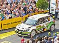 ADAC Rallye Deutschland 2013 - Fahrerpräsentation auf dem Roncalliplatz-4715.jpg