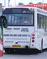 APCOA Parking bus (AE06 VPW) 2006 MAN 14.220 MCV Evolution, Luton Airport, 25 August 2009.jpg