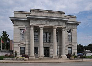 National Register of Historic Places listings in Atchison County, Missouri - Image: ATCHISON COUNTY MEMORIAL BUILDING; ROCK PORT, MO