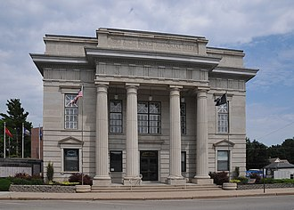 Atchison County, Missouri - Image: ATCHISON COUNTY MEMORIAL BUILDING; ROCK PORT, MO