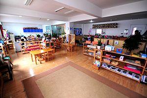 Qingdao Amerasia International School - A Montessori Classroom at Qingdao Amerasia International School
