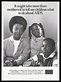 A black mother with her daughter and son with a message Wellcome L0052359.jpg