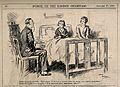 A doctor attempting to talk to an ill child and being comple Wellcome V0011526.jpg