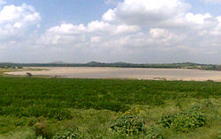 A lake near Dhone