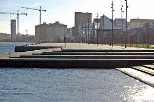 Aalborg Havnefront - marts