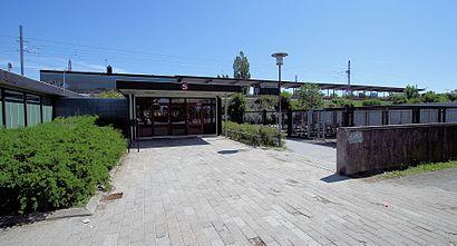 So kommt man zu Åmarken Station mit den Öffentlichen - Mehr zum Ort Hier