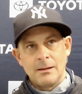 Aaron Boone American baseball player & manager