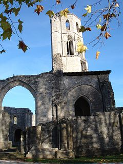 Grande-Sauve Abbey Ruined Benedictine monastery located in Gironde, France