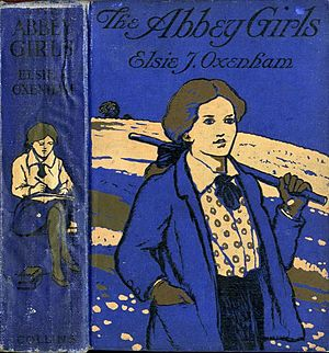Abbey Series - Pictorial boards from the first edition, (1920), of the book which gave its name to the whole series