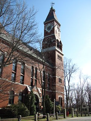 Kingsport (Lovecraft) - Abbott Hall in Marblehead, Massachusetts