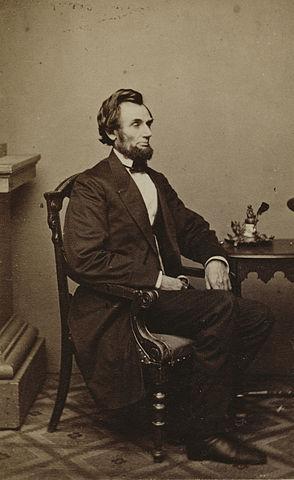 Президент Соединённых Штатов Авраам Линкольн