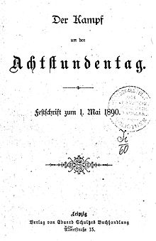 Achtstundentag Wikipedia