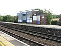 Acle railway station - waiting room on the up platform - geograph.org.uk - 1477373.jpg