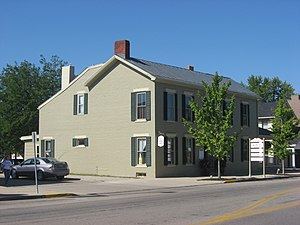 National Register of Historic Places listings in Preble County, Ohio - Image: Acton House in Eaton