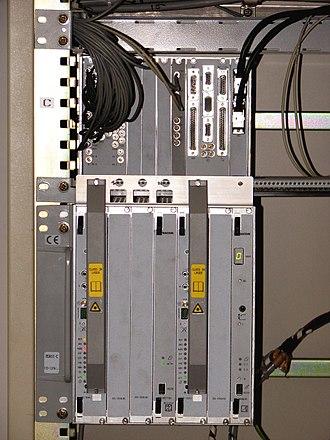 Add-drop multiplexer - An add-drop multiplexer.