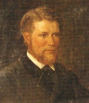 Adelsteen Normann - Possible self-portrait
