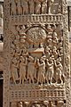 Adhyeshana - West Face - South Pillar - West Gateway - Stupa 1 - Sanchi Hill 2013-02-21 4320.JPG