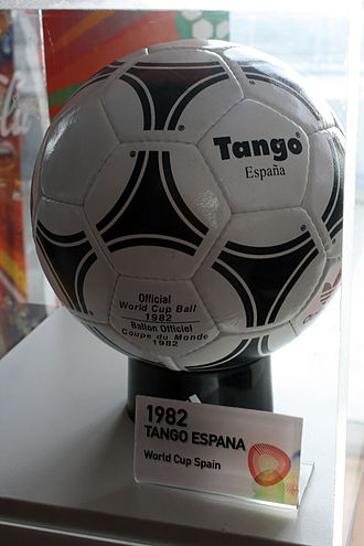 1982 FIFA World Cup - Adidas Tango España, official match ball of Spain '82