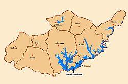 Haritada Konumu