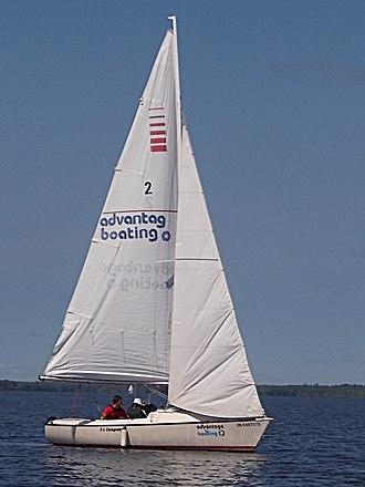 Sonar (keelboat) - Sonar in light winds