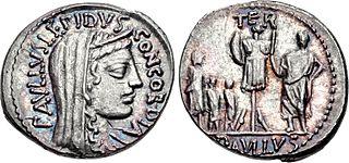 Lucius Aemilius Lepidus Paullus 1st-century BC Roman consul