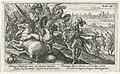 Aeneas doodt Turnus Speculum Aeneidis Virgilianae (serietitel), RP-P-OB-16.028.jpg