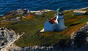 Point Conception Light - Aerial view, 2009
