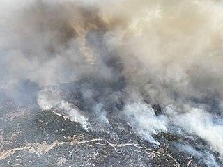 SCU Lightning Complex fires Wildfires in California