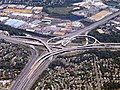 Aerial view of Springfield Interchange, September 2018.JPG