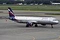 Aeroflot, VP-BQS, Airbus A321-211 (16270376287).jpg