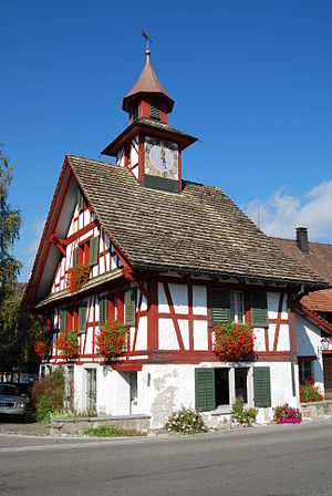 Aesch, Zürich - Tower house